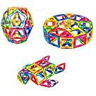 Магнитный конструктор,детский 3Д конструктор,конструктор  магнитный в чемодане 72 деталей, фото 2