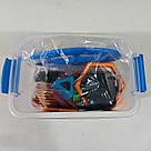Магнитный конструктор,детский 3Д конструктор,конструктор  магнитный в чемодане 72 деталей, фото 6