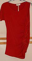 Красная блуза с одним рукавом Cristina Gavioli, фото 1