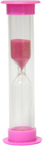 Часы песочные на 3 минуты безопасный пластиковый тубус