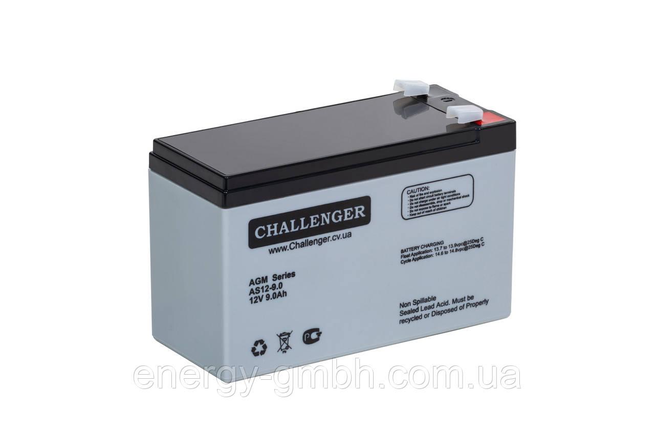 Аккумуляторная батарея Challenger AS 12-9 для ИБП (UPS)