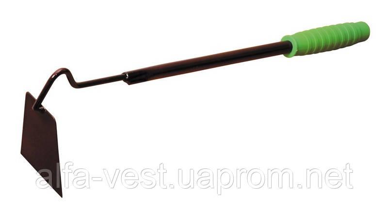 Тяпка плоская 70*435 мм с металлической ручкой MASTERTOOL 14-6396