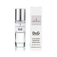 Женский мини парфюм Dolce & Gabbana 3 L`Imperatrice - 40 мл (320)