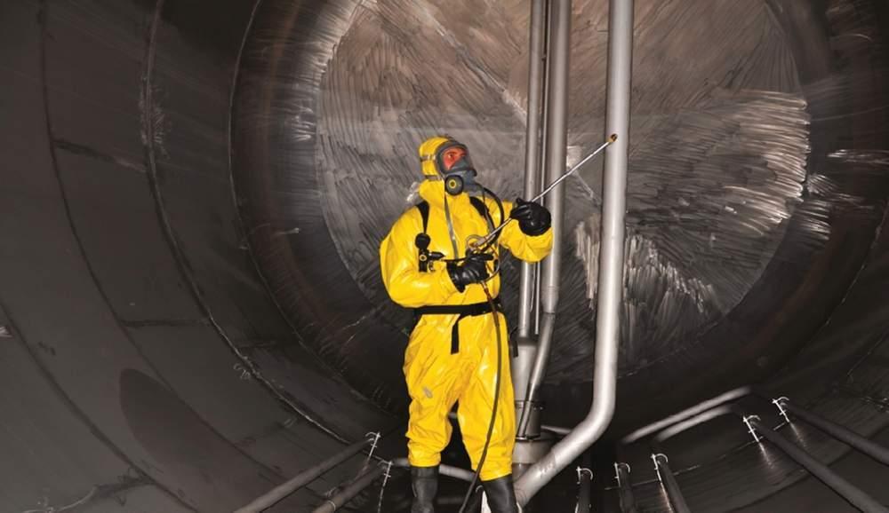 Системи покриття для захисту внутрішніх поверхонь резервуарів для зберігання нафтопродуктів