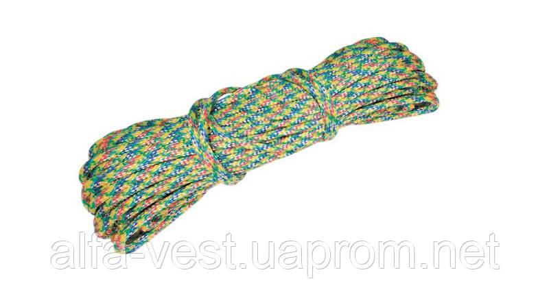 Шнур хозяйственный К-25 Ø  5,0 мм  25 м цветной ГОСПОДАР 92-0438