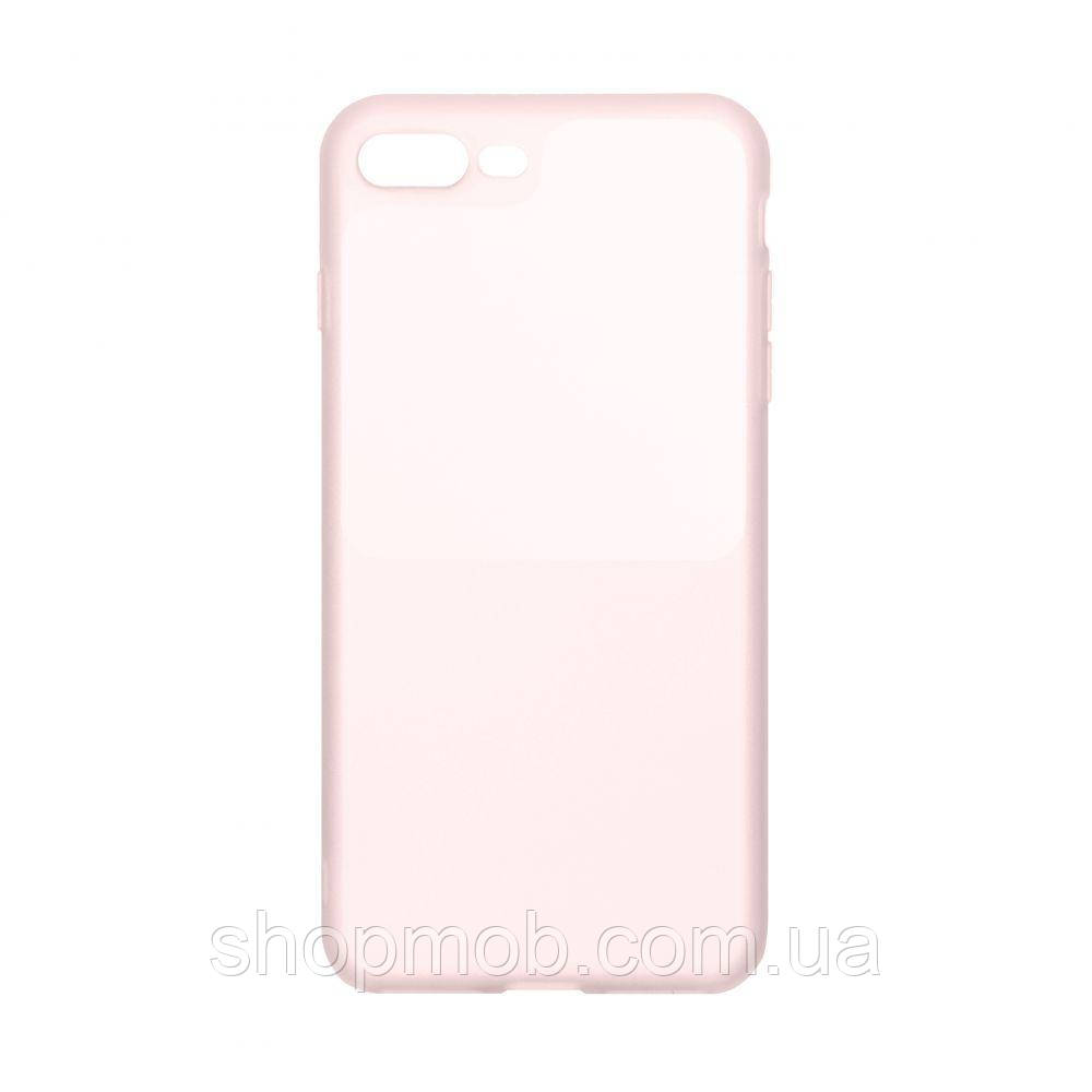 Чохол Bright Silicone for Iphone 7 Plus / 8 Plus Колір Рожевий