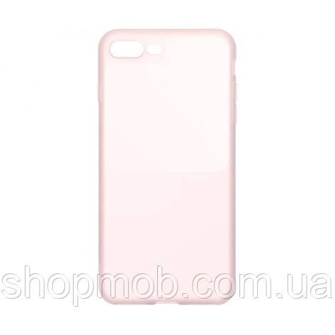 Чохол Bright Silicone for Iphone 7 Plus / 8 Plus Колір Рожевий, фото 2