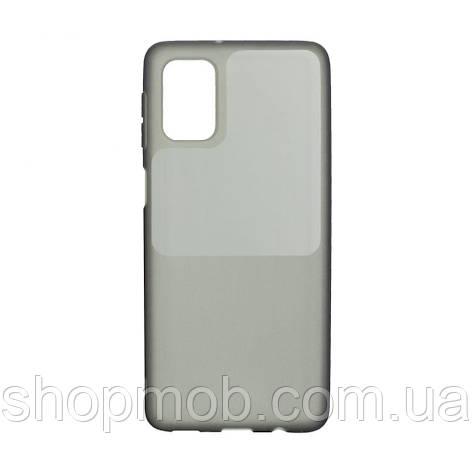 Чохол Bright Silicone for Samsung A51 Колір Чорний, фото 2
