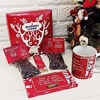 Новогодний подарок ((Чай, кофе, чешка, сладости), фото 1