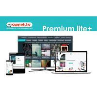 Карта активации ТВ SWEET.TV Пакет Premium lite Plus, период на 12 мес. (TRINITY_PLplus_12)