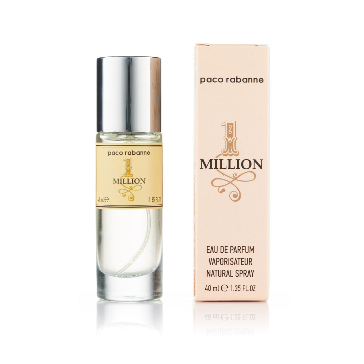 Мужской мини парфюм Paco Rabanne 1 Million - 40 мл (320)