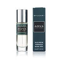 Мужской мини парфюм Bvlgari Aqua pour homme - 40 мл (320)