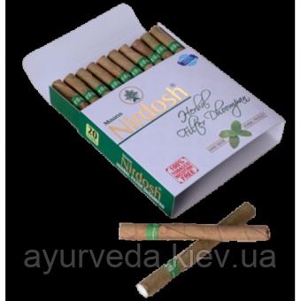 Нирдош - лечебные без никотиновые сигареты, помощь бросающим, очищение легких, спокойствие ума, астма ...