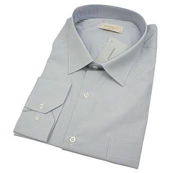 Чоловіча світло-сіра класична сорочка Negredo 560 BDC 19 великих розмірів