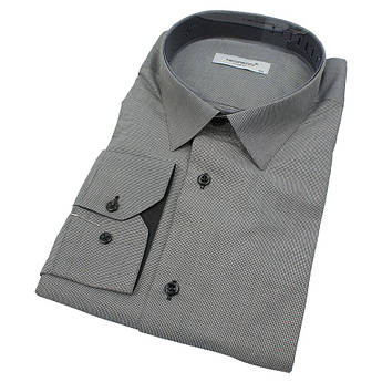 Приталена чоловіча сорочка Negredo 560 BDS 12 великого розміру
