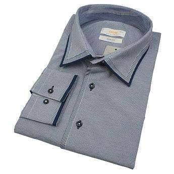Чоловіча класична сорочка з оздобленням Desibel 0370 BDS 02