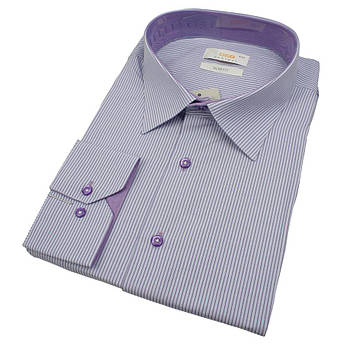Бавовняна класична чоловіча сорочка в великому розмірі Desibel 0330 BDS 04
