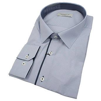 Класична чоловіча сорочка довгий рукав Negredo 560 BDC 16 великого розміру