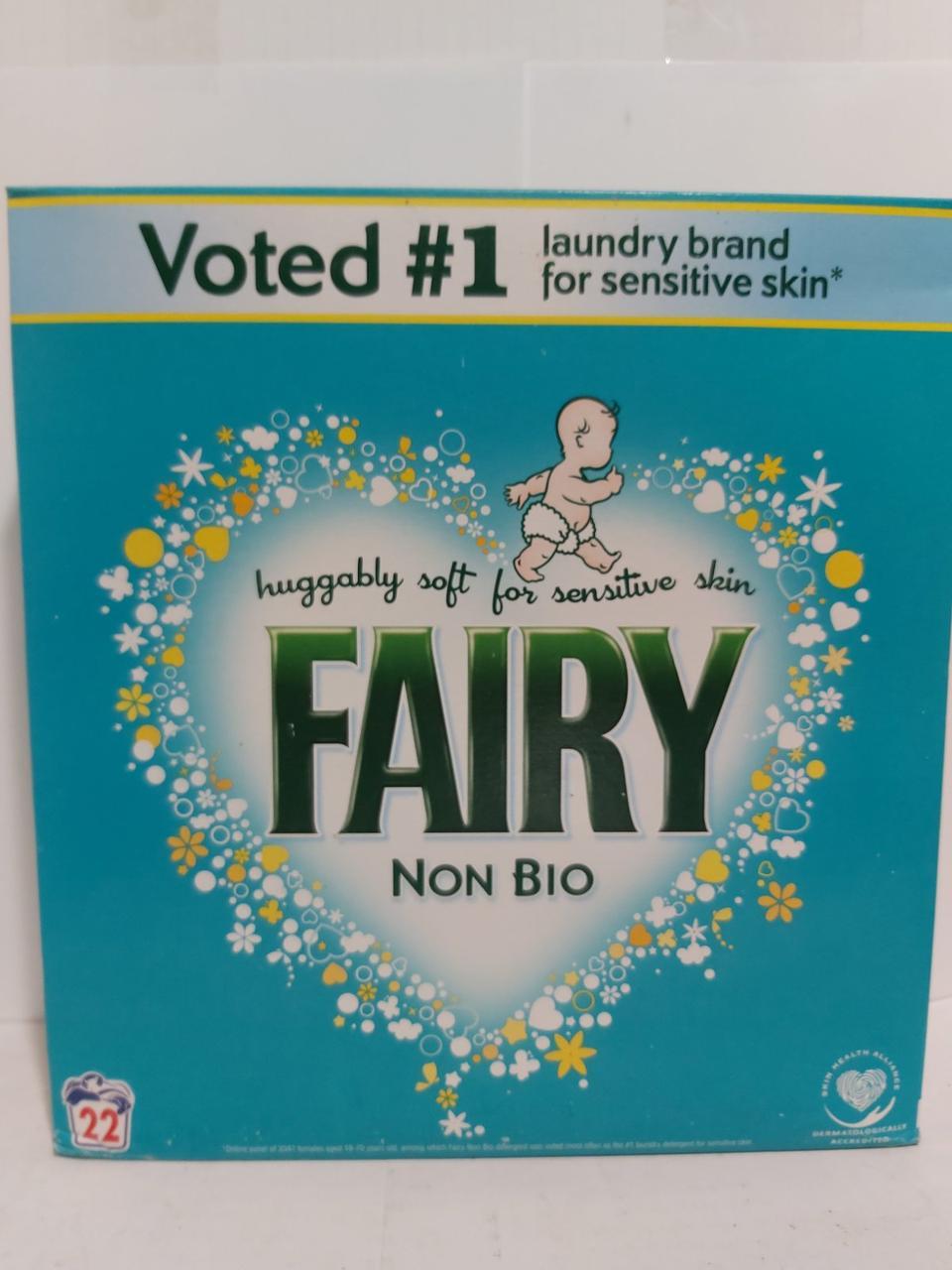 Дитячий пральний порошок Fairy Non Bio 1430г, 22 прання