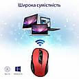 Мышь Promate Clix-7 Wireless Red, фото 7