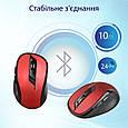 Мышь Promate Clix-7 Wireless Red, фото 6