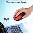 Мышь Promate Clix-7 Wireless Red, фото 2