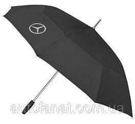 Зонт трость Mercedes Benz Guest Umbrella NM, оригинальный черный большой (B66958962)