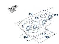 Doorhan DHS20220 Опора роликовая для откатных ворот, 1200кг