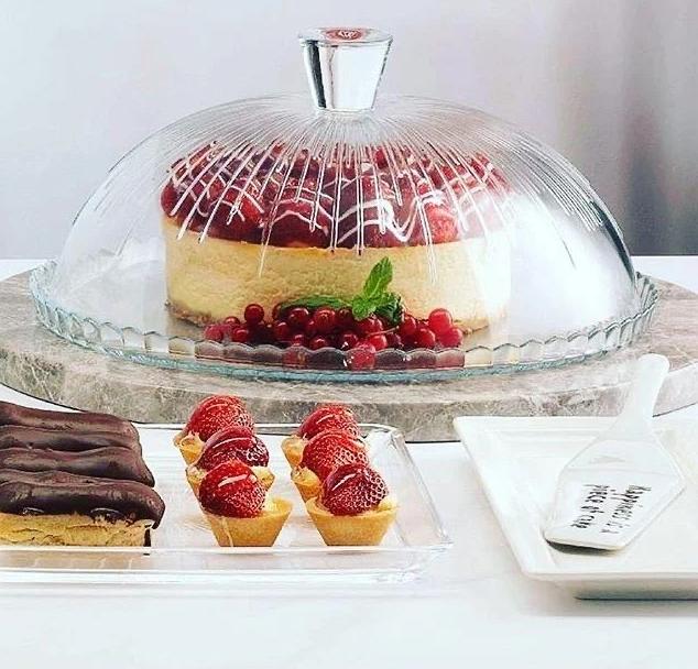 Блюдо для торта с крышкой Pasabahce Patisserie 96873 - 32см