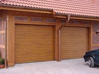 Doorhan RSD 01 Ворота гаражные секционные с пружинами растяжения