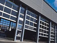 Doorhan ISD 02 Панорамные секционные ворота