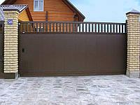 Doorhan Сдвижные откатные въездные ворота