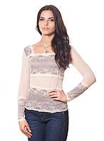 Женская блуза с кружевом (S-2XL в расцветках), фото 1