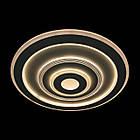 Плоская круглая светодиодная люстра на низкий потолок 105 Вт 50 см с пультом и диммером LS-2344-500 LED, фото 3