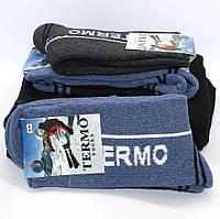 Женские теплые шерстяные термоноски Упаковка 12 пар 36-40 размер Зимние высокие махровые производство Украина, фото 1