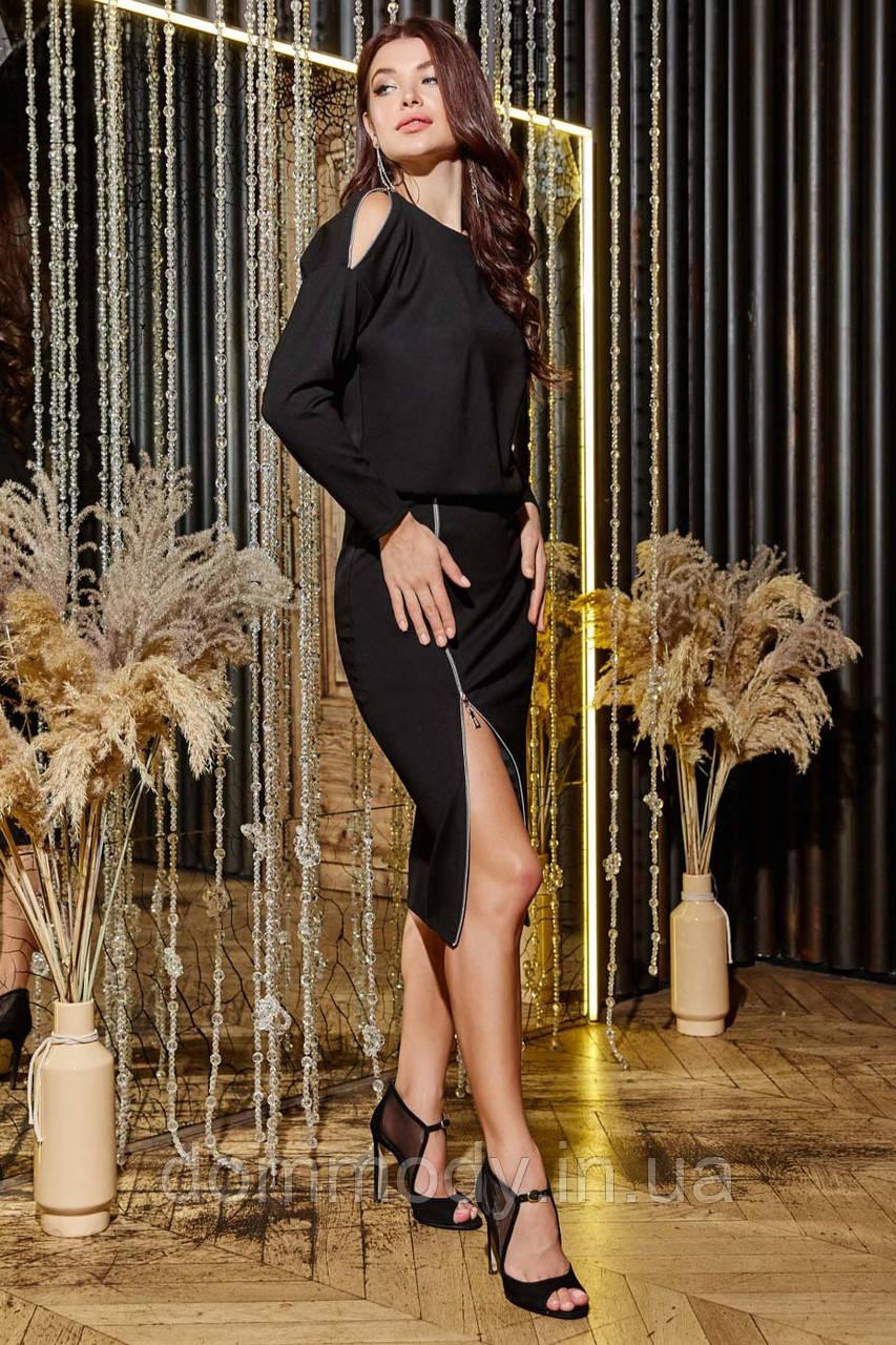 Платье женское Waist black