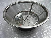 Микрофильтр (сито) из нержавеющей стали соковыжималки Bosch 00648221, фото 1