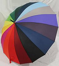 Зонт ТРОСТЬ радуга, антиветер / Max Comfort, фото 2