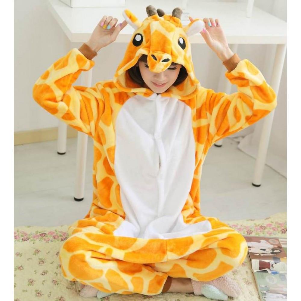 Пижамы женские Кигуруми Кигуруми Жираф