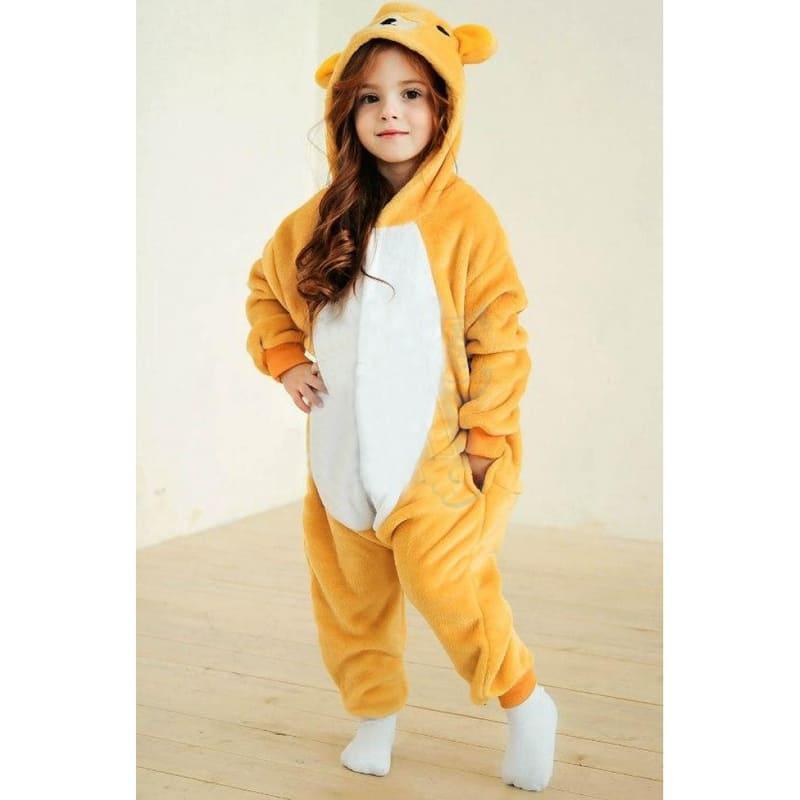 Пижамы женские Кигуруми Кигуруми детский Мишка