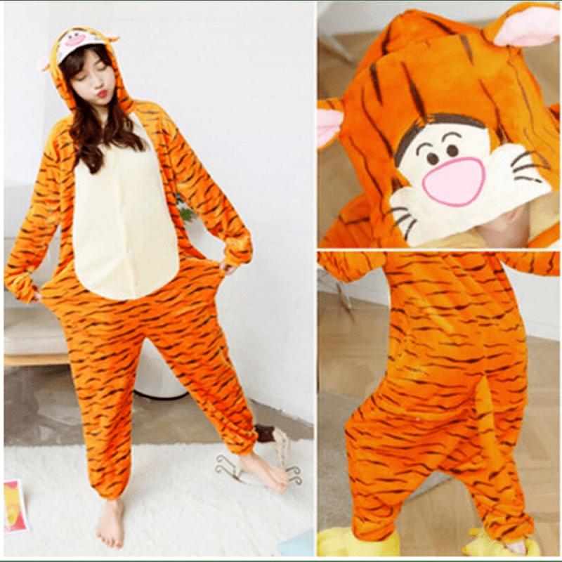 Пижамы женские Кигуруми Кигуруми Тигруля
