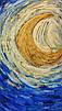 Плед Emmer Звездная ночь, флис 140*160, фото 3