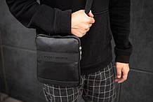 Мужская кожаная сумка GT Small через плечо