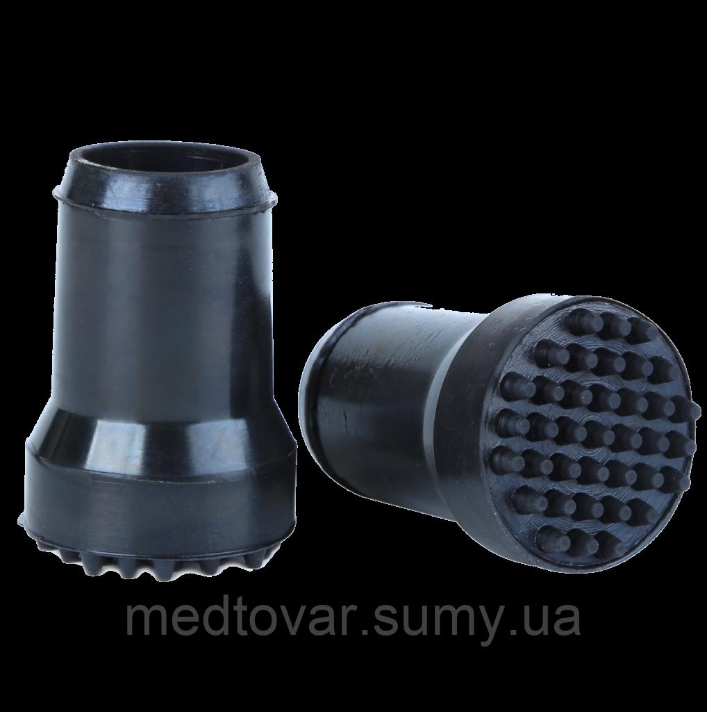 Гумовий накостыльник 25 мм