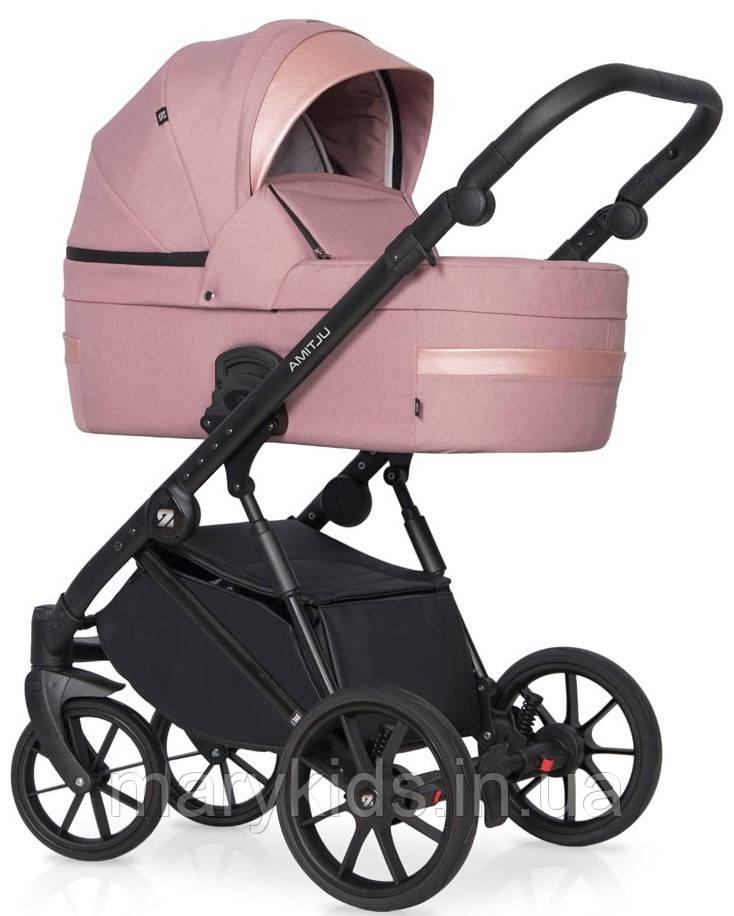 Деткая универсальная коляска 3 в 1 Riko Ultima 02 Pink