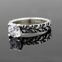 """Женское кольцо """"Протектор""""  с цирконием от WickerRing"""