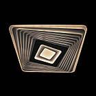 Современная светодиодная LED люстра 75 Вт 50 см с пультом на 3 режима света и диммером LS-2316 WH-GR, фото 2