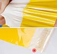 Курьерский пакет жёлтый 165х260 + 40 клапан, фото 6