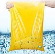 Курьерский пакет жёлтый 165х260 + 40 клапан, фото 8