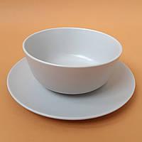 Тарелка глубокая суповая Крем 630 мл